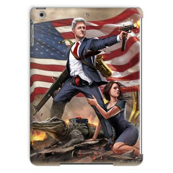 Bill Clinton - Slayer in Chief Tablet Case