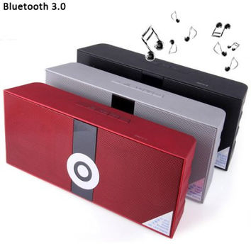 MS - 288 Portable NFC MIC Wireless Bluetooth 3.0 Radio Alarm Speaker Built in Lithium Battery for MP3 MP4 Player PSP Computer etc. ( AC 100 - 240V )