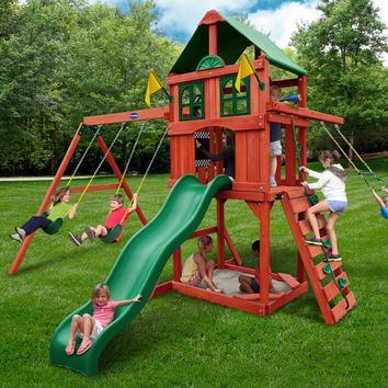 Playnation Sweetwater Wooden Swing Set