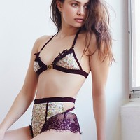 Free People Stevie High Waist Satin Undie