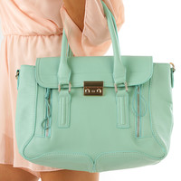 Tip The Scales Purse: Mint