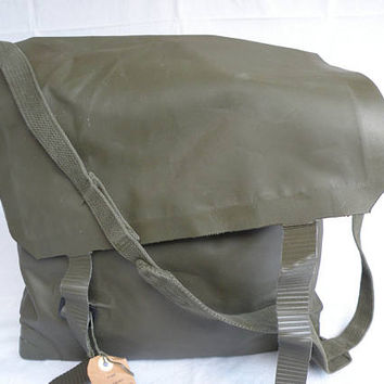 Military canvas bag, Military canvas Vintage Messenger
