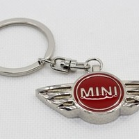 High quality Unique design Zinc Alloy red MINI Cooper Car logo Keychain Metal Keychain keyring-in Key Rings from Automobiles & Motorcycles on Aliexpress.com | Alibaba Group