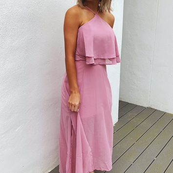 Baby Be Mine Maxi: Blush