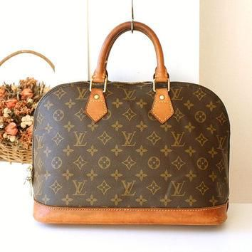 Louis Vuitton bag Vintage LV monogramed Purse Louis Vuitton Alma handbag
