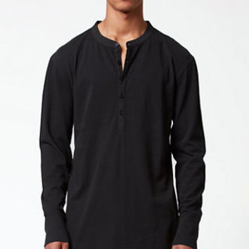 FOG - Fear Of God Long Sleeve Henley Shirt at PacSun.com