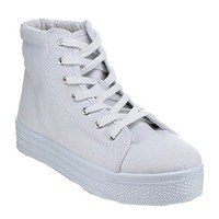 Quipd Maniac-05 Women's Hot Seller High Top Lace Up Fashion Sneaker