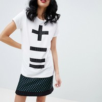 Love Moschino Calculus Print T-Shirt at asos.com