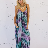 Amalfi Maxi Dress- Purple Haze
