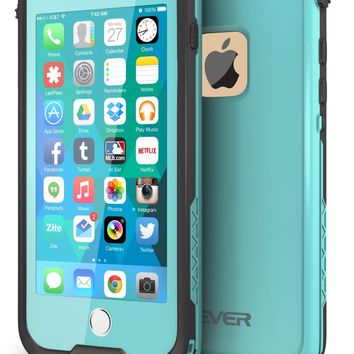 "CellEver iPhone 6 / 6s Case Waterproof Shockproof IP68 Certified SandProof SnowProof Full Body Protective Cover Fits Apple iPhone 6 and iPhone 6s (4.7"") - Ocean Blue"