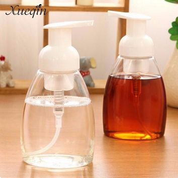 Xueqin 300ml Plastic Bathroom Liquid Soap Foam Dispenser Hand Pump Shampoo Lotion Containers Cleanser Bottles