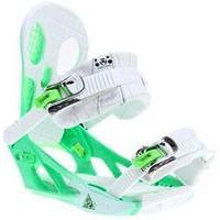 K2 Hurrithane Snowboard Bindings White 2013 - Mens