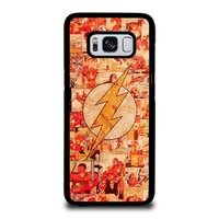 THE FLASH COLLAGE Samsung Galaxy S8 Case Cover