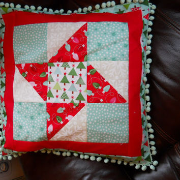 Patchwork Cushion. Price Reduction from 20 to 15 Dollars