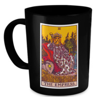 The Empress Tarot Card Coffee Cup Mug empressmug