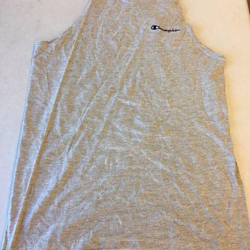 CUPUPI8 BRAND NEW RETRO CHAMPION GRAY TANK TOP TEE SHIRT SHIPPING