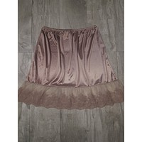 Half Dress Slip in Mocha
