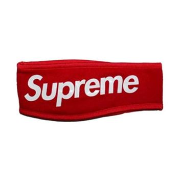 Supreme New Era Fleece Headband