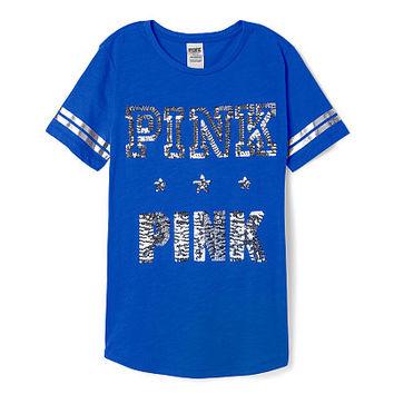 Bling Perfect Legging Tee - PINK - Victoria's Secret