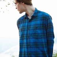 Koto UKA Overdyed Plaid Button-Down