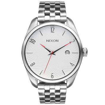 Ladies' Nixon Bullet Stainless Steel White Dial Watch