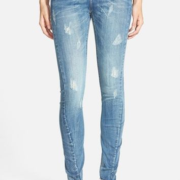 Women's One Teaspoon 'Hoodlums' Skinny Jeans ,