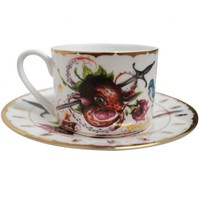 Strawctopus Cup & Saucer | Edition of 250