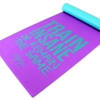 oGorgeous Gym Boutique - Train Insane Premium Anti-Slip Yoga Mat