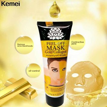 Mask Face Lifting Firming 24K Gold Collagen Peel Off  Skin Anti Wrinkle Anti Aging Facial Mask Whitening Skin Care Mask