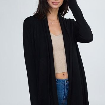On The Ball Cardigan - Black