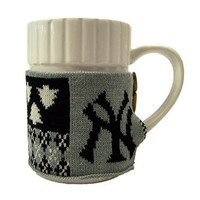 New York Yankees Official MLB Ugly Sweater Christmas Mug by Forever Collectibles 104174