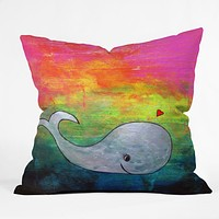 Sophia Buddenhagen I Whale Always Remember You Throw Pillow