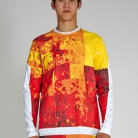 Temp Pixel Long Sleeve T-Shirt