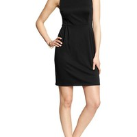 Women's Ponte-Knit Shift Dresses