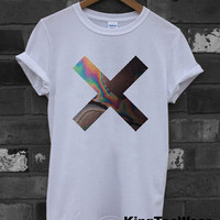 XX Coexist Pop Punk Rock Music Logo Printed Unisex Men & Women White T Shirt Tee