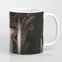 Don't go There, It's a Trap Mug by Linas Vaitonis