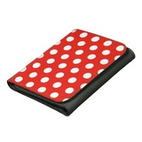Red White Polka Dots - Wallet