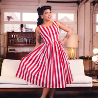 Trudie A-Line Dress - 1950s Vintage Style Custom Reproduction
