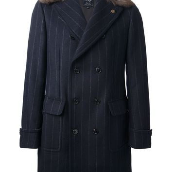 Fay pin striped coat