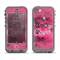 The Burn Book Pink Apple iPhone 5c LifeProof Nuud Case Skin Set