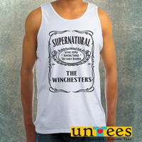 Supernatural The Whinchesters Clothing Tank Top For Mens
