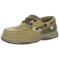Sperry Boys Bluefish Leather Nubuck Boat Shoes