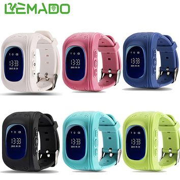 Lemado Q50 GPS Kid safe SOS Smart Watch Positioning Call Location Finder Device Anti Lost Monitor for Child Baby Wristwatch