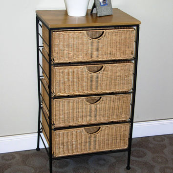 Michael Anthony Furniture 4 Drawer Wicker