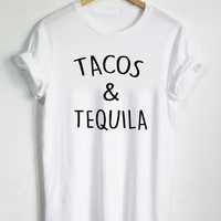 """Tacos & Tequila"" T-Shirt"
