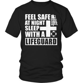 Feel safe at night sleep with a Lifeguard T Shirt