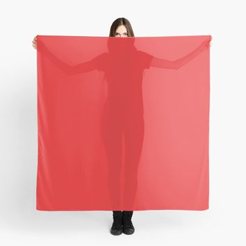 'Youtube Red' Scarf by Space & Lines