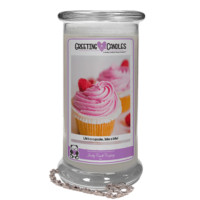 Life's a cupcake.. take a bite! | Jewelry Greeting Candles