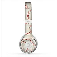 The Baseball Overlay Skin for the Beats by Dre Solo 2 Headphones
