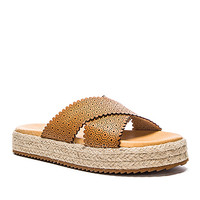 Matisse Ponte Sandal in Tan